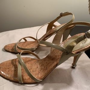 CHANEL Strappy  Heels-Size 42- (US 10.5) Used